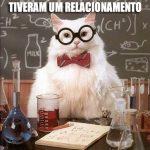 O Gato da Química e suas Piadas