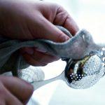 Limpando prata