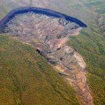 Um depósito de gases do efeito estufa está abrindo na Sibéria