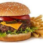 Tem amônia no hambúrguer!