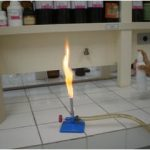 Teste de chama com Spray